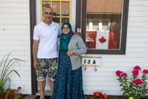PARNS: Al Zhouri family in Antigonish