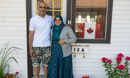 Al Zhouri Family in Antigonish