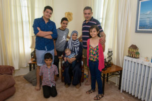PARNS: El Imam family in St-Andrews