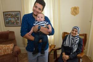 PARNS: El Imam family in St-Andrews