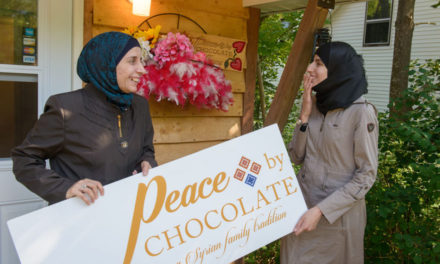 Hadhad Family – Mother and Daughter in Antigonish
