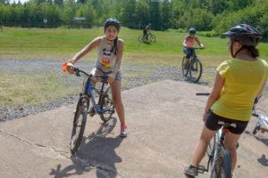 PARNS: Carol Affour from Montréal at Tim Horton Camp at Tatamagouche